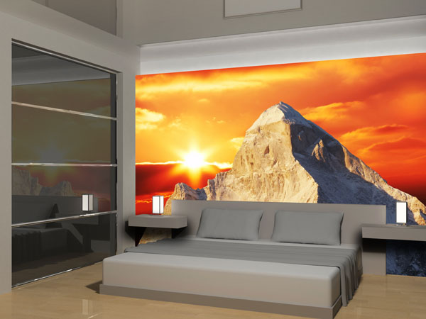 berge fototapete berg panorama fototapeten bei. Black Bedroom Furniture Sets. Home Design Ideas