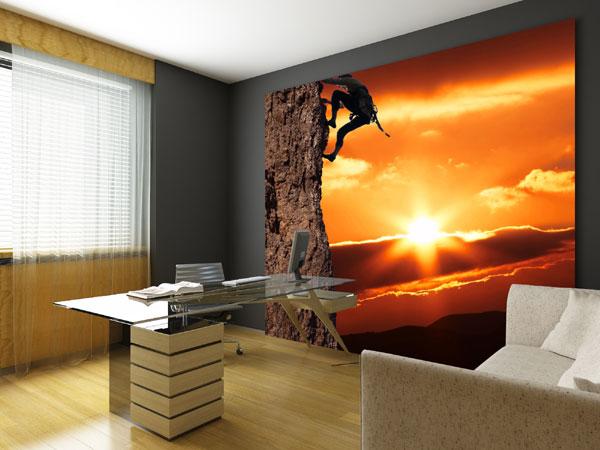 Sonnenuntergang Fototapete Sonne Untergang Fototapeten bei ...